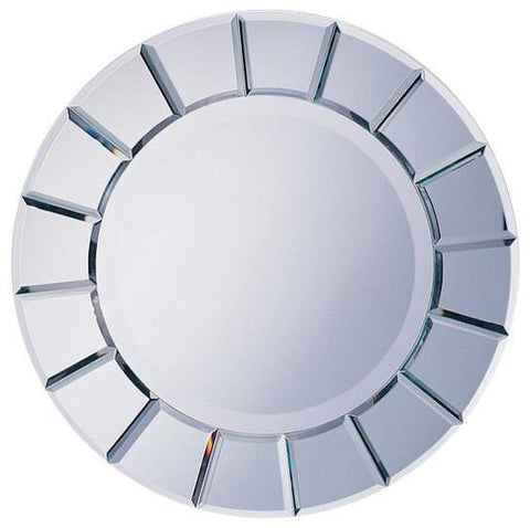 Round beveled Edge mirror