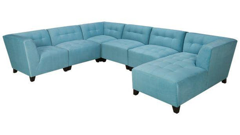 Belaire Modern Modular Sectional - Choose your fabric & Configuration