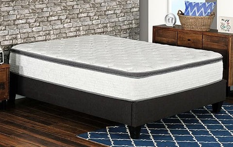 "Fuzion Euro Top 12"" Pocket Coil Mattress"