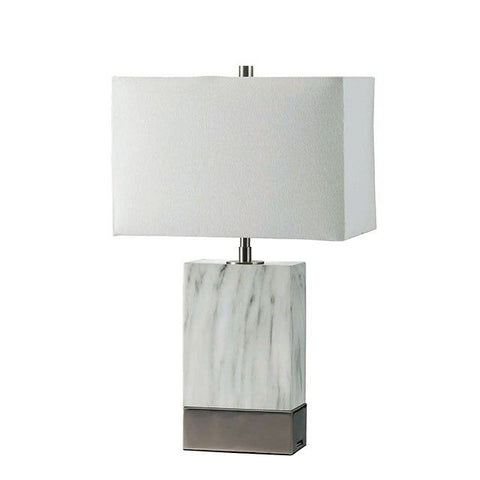Faith Table Lamp - silver