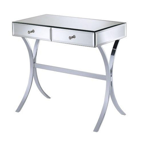 Mirrored 2 Drawer Vanity Table