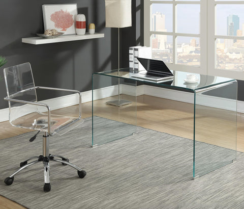 Contemporary Glass Desk