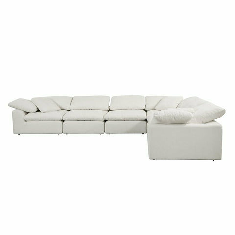 Like A Cloud Modular Sectional - Ivory Linen (Choose Your Configuration)