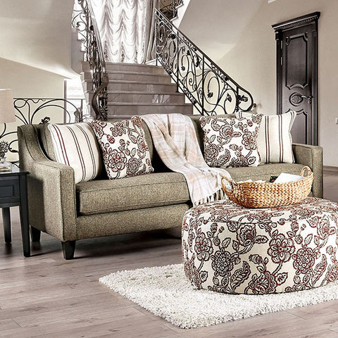 Fillmore Fabric Sofa- Warm Grey