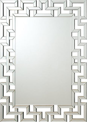 Interlocking frameless Mirror