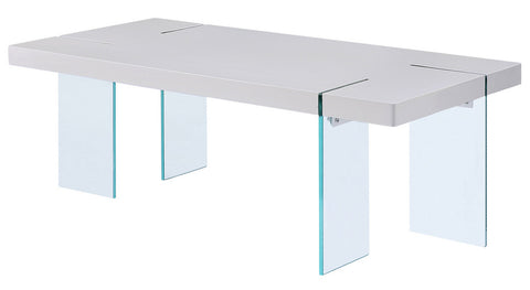 81460 modern white gloss coffee table , noland coffee table