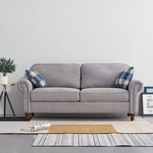 Load image into Gallery viewer, Comfortable 2 Seater Fabric Sofa