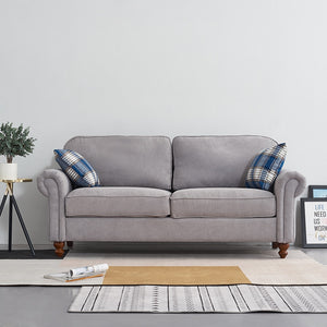 Comfortable 2 Seater Fabric Sofa