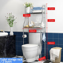 Load image into Gallery viewer, Multi-function stainless steel Washing Machine Shelf