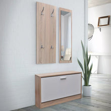 Load image into Gallery viewer, 3-In-1 Wooden Shoe Cabinet