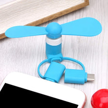 Load image into Gallery viewer, 3 in 1 Mini USB Fan