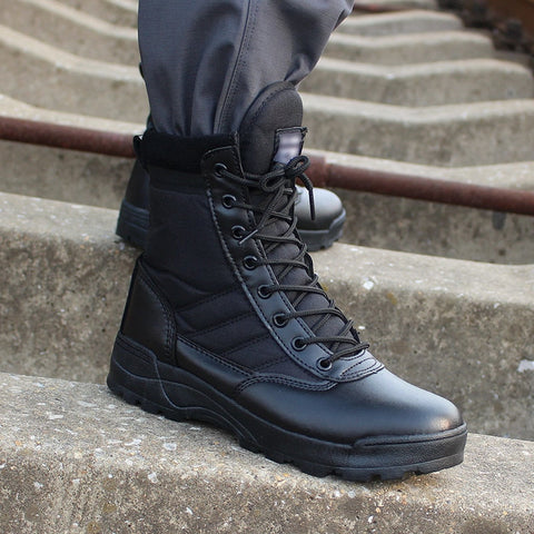 Men's Desert Tactical Combat Boots