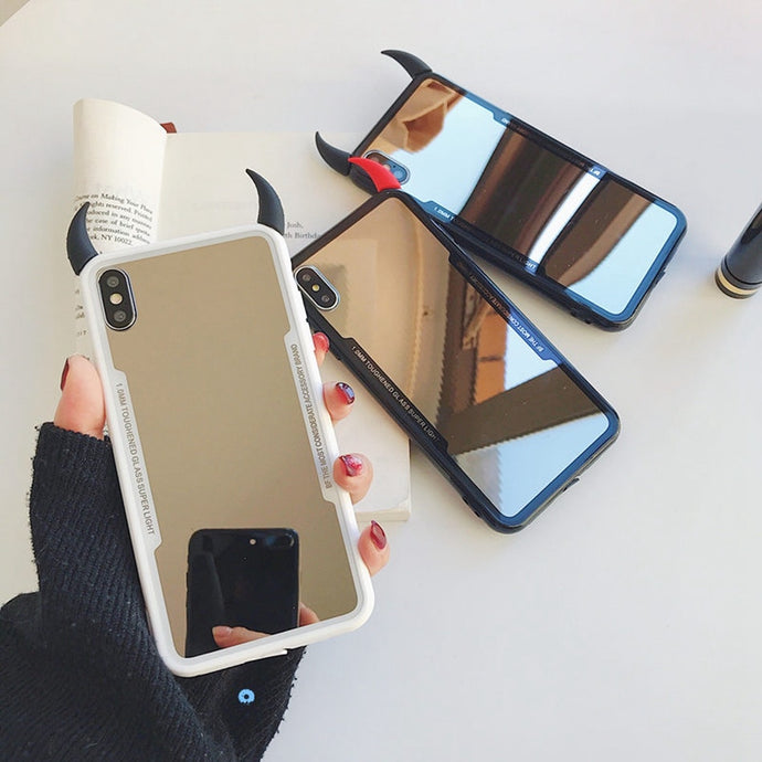 Luxury Mirror Case For iPhone