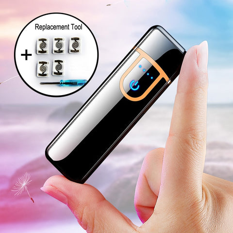 USB Metal Charging Lighter