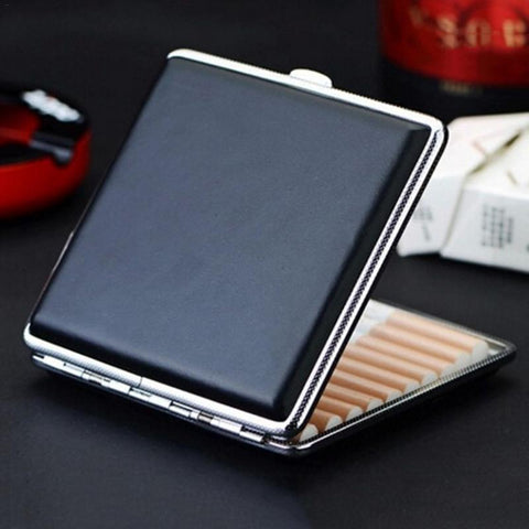 High Quality Leather Cigarette Case