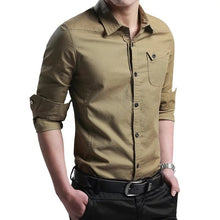Load image into Gallery viewer, Thin Breathable Military Men Shirts