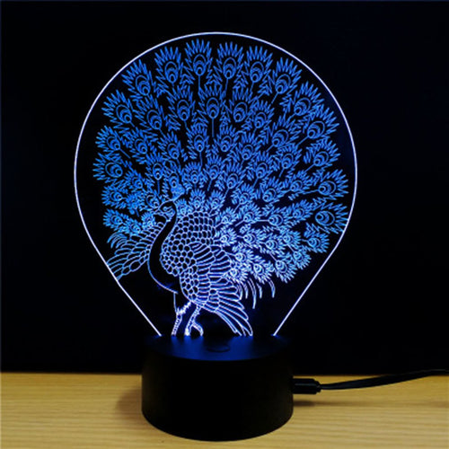 3D Acrylic Light