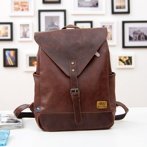 Leather Fashion Backpack