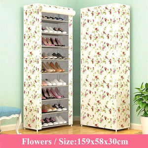 10 Layers Nonwoven Fabric Shoe Rack
