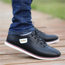 Load image into Gallery viewer, Men's PU Leather Business Casual Shoes