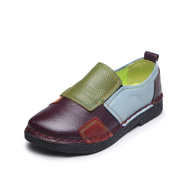 Designer Genuine Leather Loafers for Women