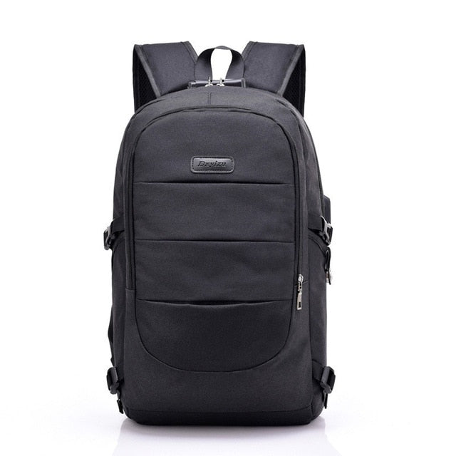 black-backpack