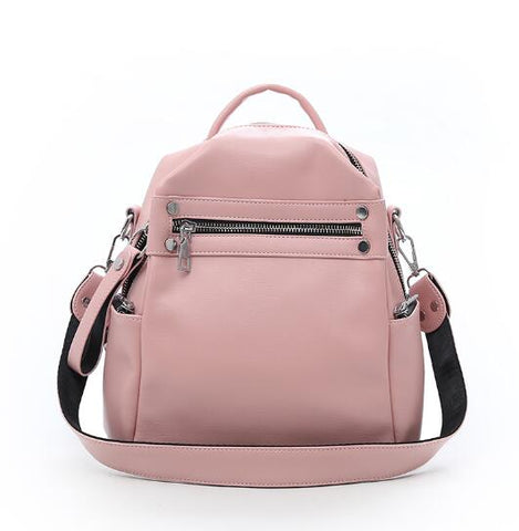 Multi-purpose Casual Fashion Ladies Small Backpack