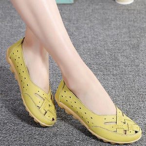 Comfort Genuine Leather Flat Shoes