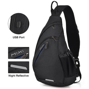 Men One Shoulder Backpack