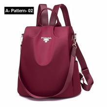 Load image into Gallery viewer, Women Oxford Multifuction Backpack