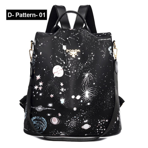 Women Oxford Multifuction Backpack