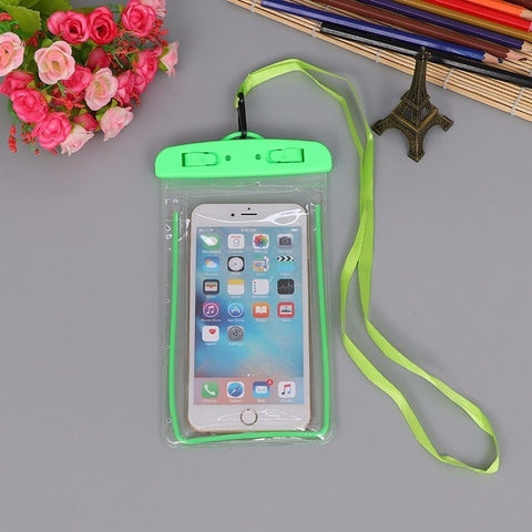 Summer Luminous Waterproof Phone Cover