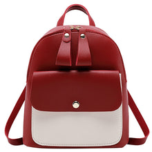 Load image into Gallery viewer, Cute Panelled Backpacks For Teenage Girl