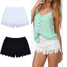 Load image into Gallery viewer, Woman Summer Lace Floral Shorts