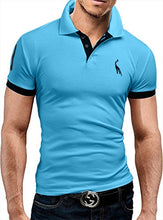 Load image into Gallery viewer, Men's Short Sleeve Polo Shirt