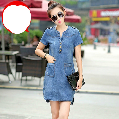 Summer Style Denim Dresses