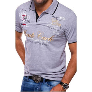 Short Sleeve Cotton Casual Printing Shirts