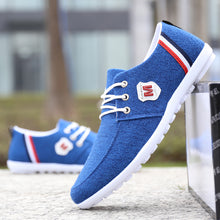 Load image into Gallery viewer, Men Breathable Casual Canvas Shoes