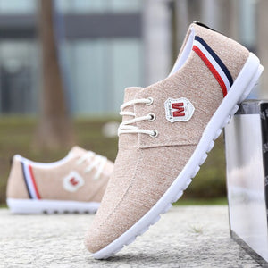 Men Breathable Casual Canvas Shoes