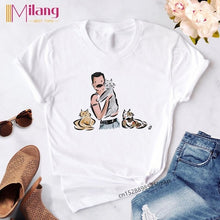 Load image into Gallery viewer, Women Freddie Mercury Black T-shirts
