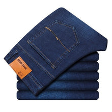 Load image into Gallery viewer, Men's Slim Elastic Jeans