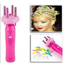 Load image into Gallery viewer, Girl's Electronic Automatic DIY Stylish Hairstyle Tool