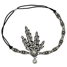Load image into Gallery viewer, 1920's Flapper Pearl Headpiece Headband