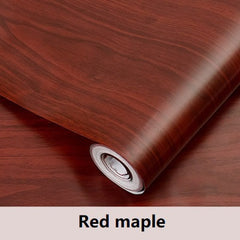 Wood Grain Adhesive Furniture Wall Stickers
