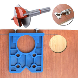 Wood Drill Furniture Hinge Installation