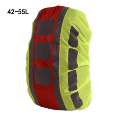 IKSNAIL 20-55L New Reflective Backpack Sport Bag Covers Rain Cover Backpack Outdoor Riding Dustproof Waterproof Rainproof Covers