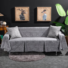 Soft Slipcover Sofa Cover Furniture Couch Settee Protector for 1/2/3/4 Seater Sofa Covers for Living Room Stretch Sofa Cover