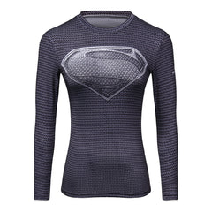 Female Marvel Superman Tops