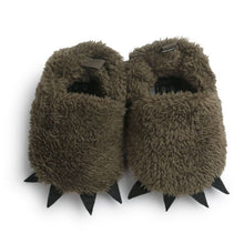 Load image into Gallery viewer, Monster Claw Baby Moccasins