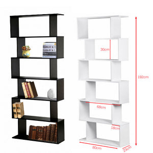 Panana 6 Shelve Bookcase